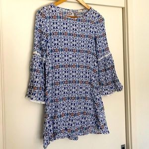 ROXY Over swimmers tunic or cute top, 3/4 sleeves
